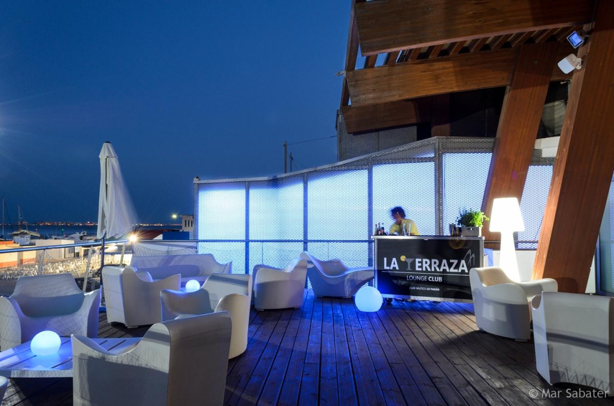 La Terraza Lounge Club C N Lo Pagán Mar Sabater