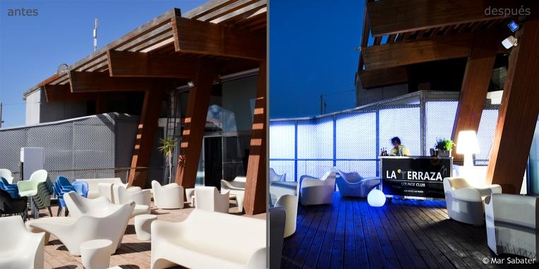 La Terraza Lounge Club. Comparativa 2